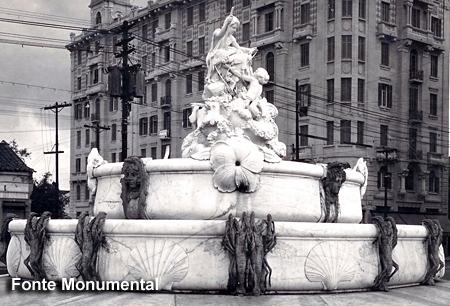 Fonte Monumental - Praça Julio Mesquita, São Paulo