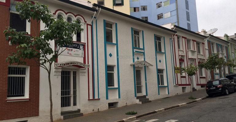 Sobrados Restaurados da Rua Maria José