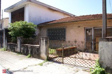 Casa demolida no Ipiranga