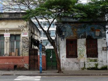 Casas Demolidas – Rua Santo Antônio, 598 e 606