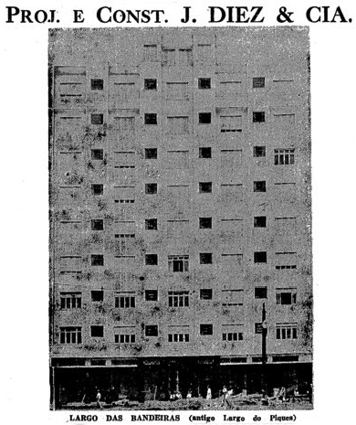 O hotel concluído em fevereiro de 1944.