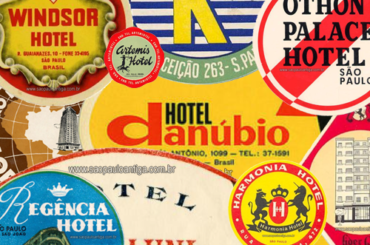 A história das etiquetas de bagagens dos hotéis de São Paulo