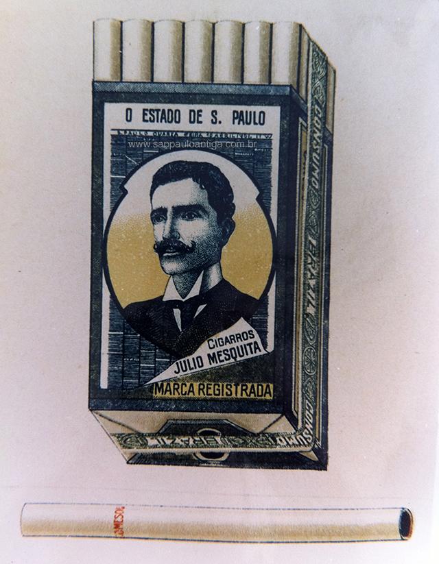 Cigarros Júlio Mesquita - 1903