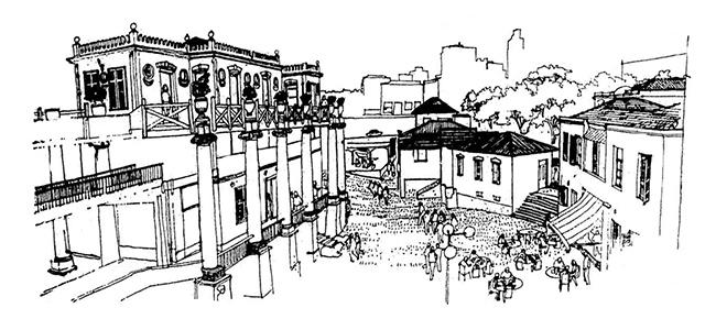 Primeiro projeto cultural da Vila Itororó, de 1978 (clique para ampliar)