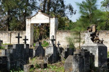 O antigo Cemitério Nossa Senhora do Carmo