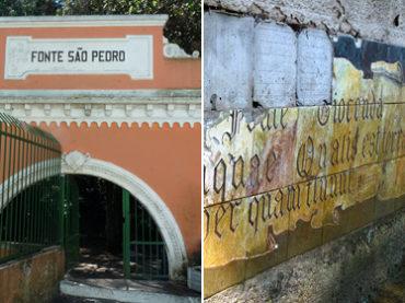 Fontes Abandonadas em São Paulo
