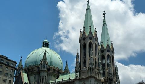 A fauna brasileira escondida na Catedral da Sé