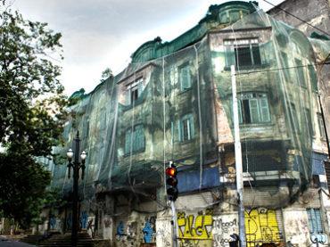 Prédio Abandonado – Praça Clóvis Bevilacqua