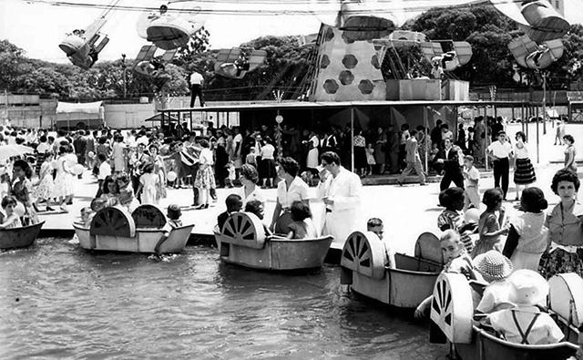 O Parque Shangai em 1958 (Clique para ampliar / Foto: Divulgação)