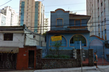 Casarão Demolido – Rua Tomás Carvalhal, 380