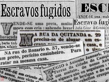 Os repugnantes anúncios de escravos em jornais do Século 19