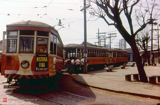 Um ponto final não identificado, em 1961 (clique na foto para ampliar)