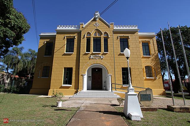 Vista da Casa de Cultura, antiga cadeia pública (clique na foto para ampliar).