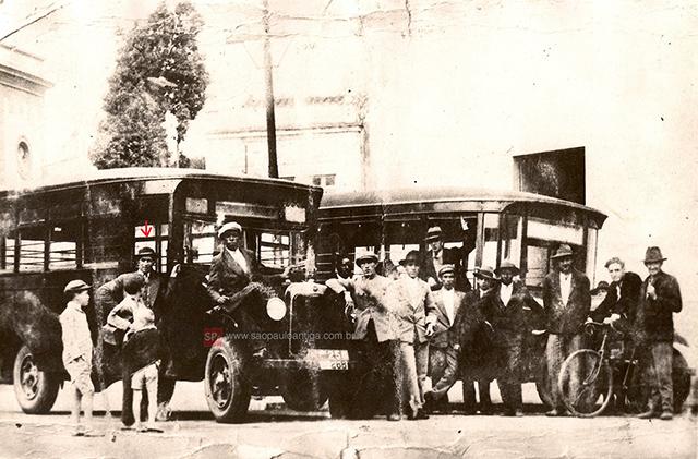 A frota de Guarulhos em 1927 (clique para ampliar).