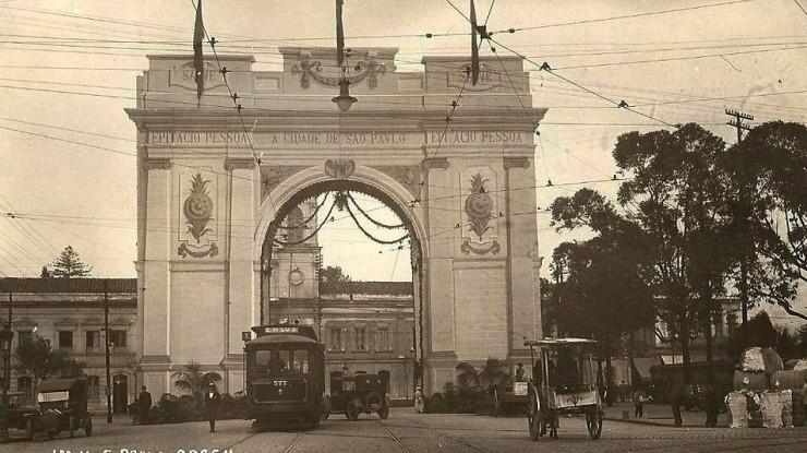 O Arco do Triunfo de São Paulo