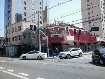 Imóveis demolidos – Avenida Brig. Luís Antônio com Rua Caconde