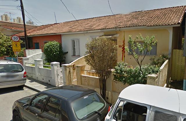 Vista dos imóveis vizinhos (Crédito: Google)