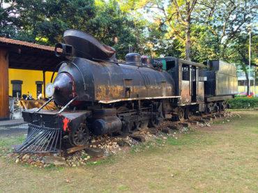 A história de Dona Joaninha, a locomotiva de Guarulhos