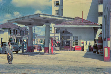 Auto Posto na rua da Mooca 1950 & 2014