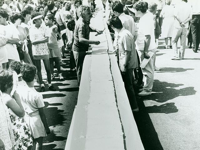 Bolo do Bixiga em 1992 (clique na foto para ampliar)