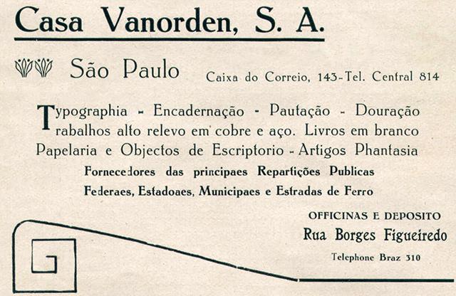 Casa Vanorden 1922