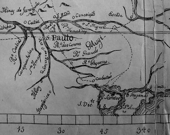 Recorte de mapa de 1766
