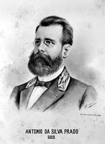 Antonio Prado em retrato de 1888