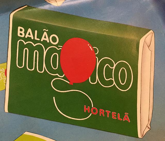 """Chicle de bola """"Balão Mágico"""""""