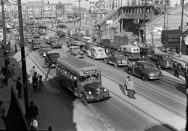 Avenida Rangel Pestana com as porteiras abertas (clique na foto para ampliar)