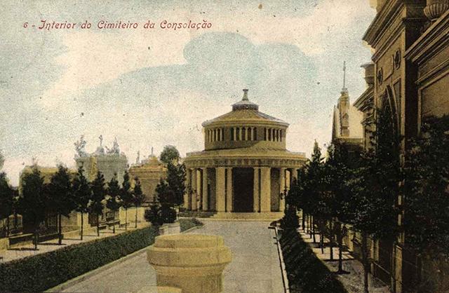 Cemitério da Consolação no final do século 19