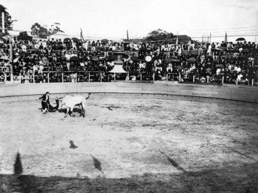 Touradas: antes de ser a Praça da República teve outros nomes e também outras utilizações. Foto: São Paulo Antiga.