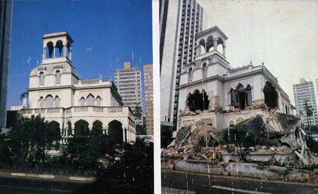 20 de Junho de 1982 - Casarão de Josephina Lotaif recebe um duro golpe.
