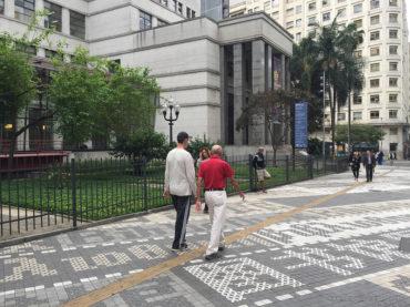 Conheça a nova calçada da Biblioteca Mário de Andrade