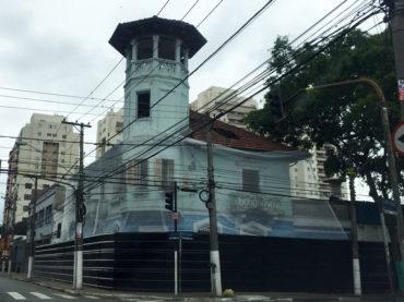 Casarão da Estamparia Graziani está sendo demolido
