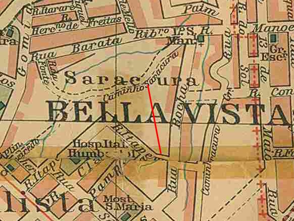 Bela Vista em 1913