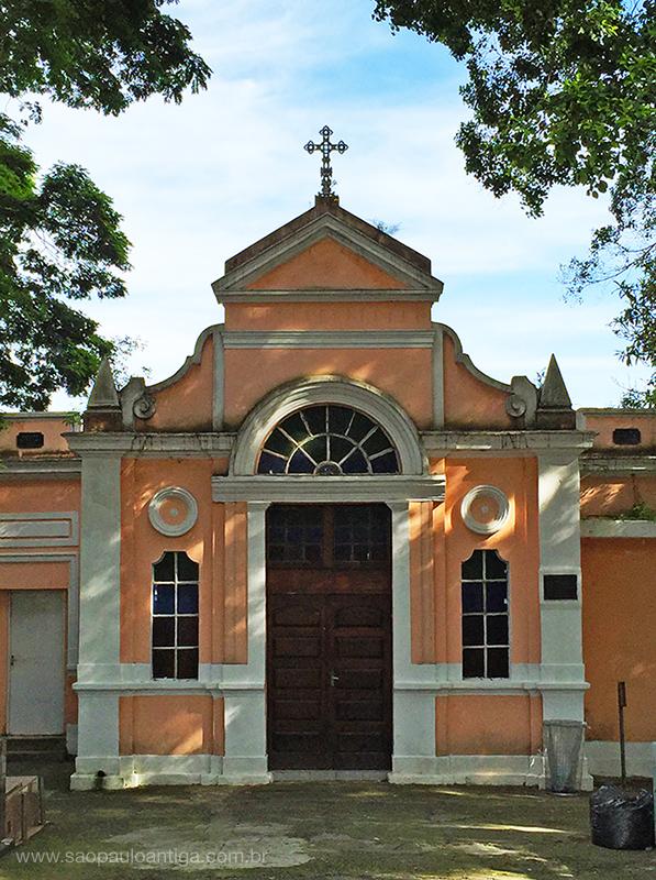Na foto, a Capela do Chora Menino de 1897