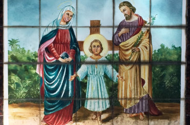 A arte sacra em azulejos no Cemitério Chora Menino