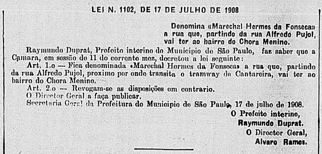 Fonte: Correio Paulistano - Edição 16141, página 4 - ano de 1908