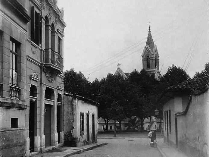 rua do boticario em 1908