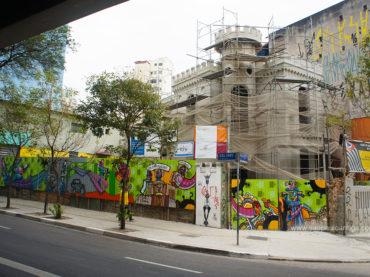 Restauro do Castelinho da Rua Apa avança