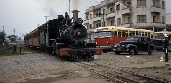 Avenida Cruzeiro do Sul – 1957 & 2016