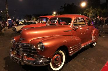 Quinta Antiga reúne carros clássicos em São Paulo
