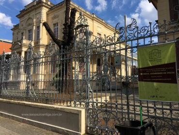 Museu da Energia está fechado