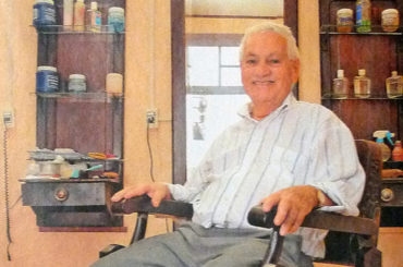 A barbearia do Sr. Walter