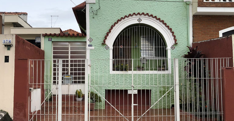 Casa – Rua Manoel Pereira Lobo