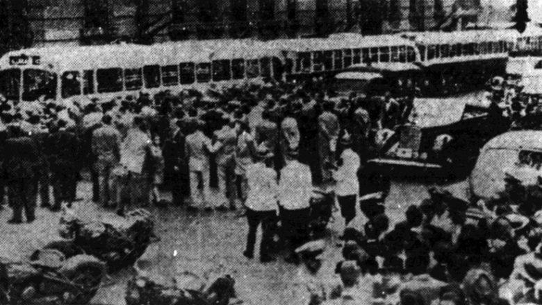 70 anos de trólebus em São Paulo