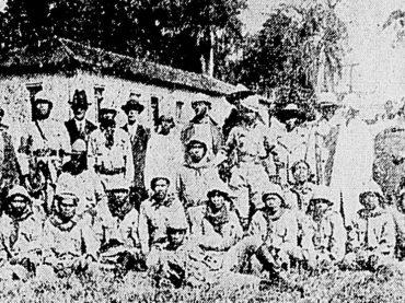 Os índios combatentes de 1932