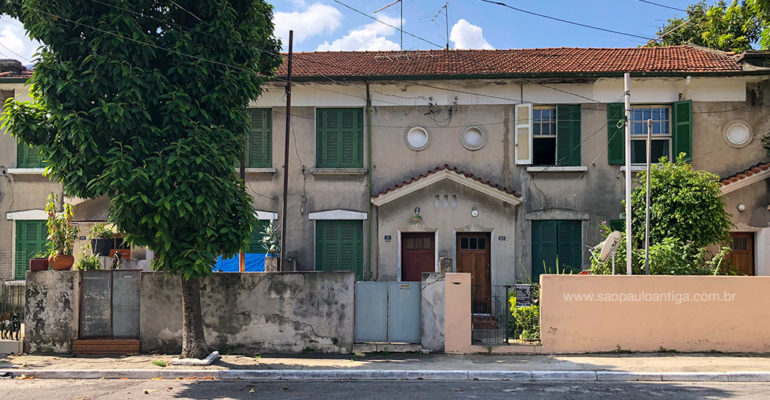 Casas Operárias – Rua Cel. João Dente