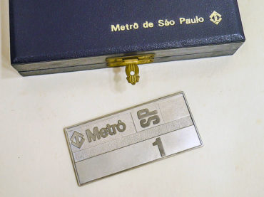Leilão tem preciosidade do Metrô de SP para lance