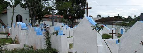 Uma Visão do pequeno Cemitério